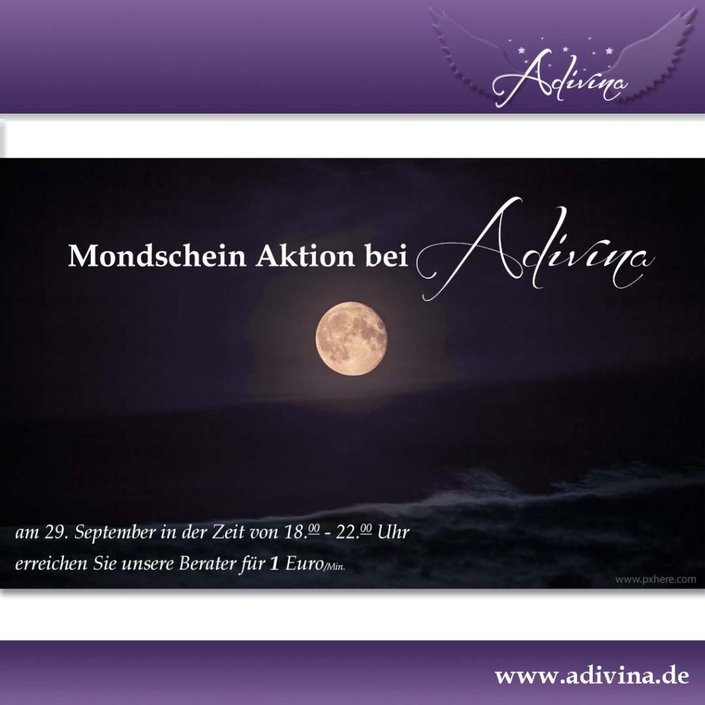 Mondschein-Aktion bei Adivina